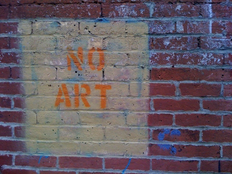 no art for you